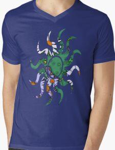 Summer Daisy Mens V-Neck T-Shirt