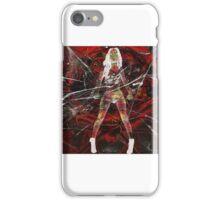 Comic Black widow  iPhone Case/Skin