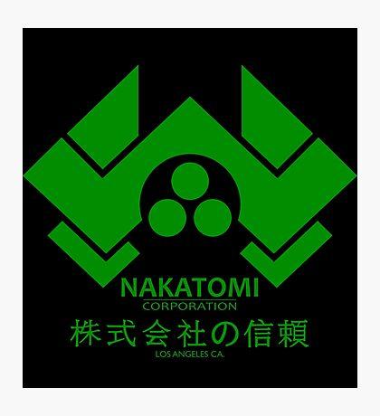 NAKATOMI PLAZA - DIE HARD BRUCE WILLIS (GREEN) Photographic Print