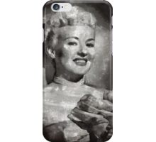 Betty Grable Vintage Hollywood Pinup iPhone Case/Skin