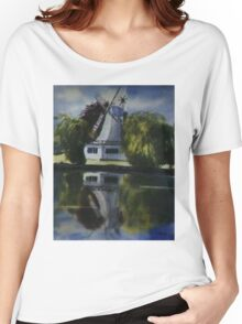 Windmill In The Willows Women's Relaxed Fit T-Shirt