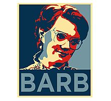 Barb - Never Forget : Stranger Things Photographic Print