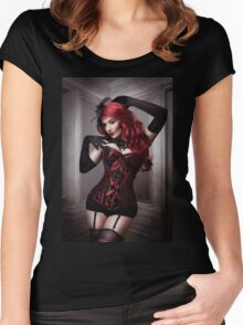 Diva Women's Fitted Scoop T-Shirt