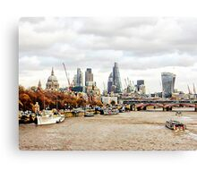 City View London Canvas Print