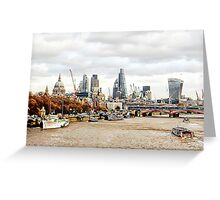 City View London Greeting Card