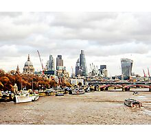 City View London Photographic Print