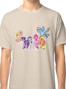 Mane Six Series ~ The Elements of Harmony Classic T-Shirt