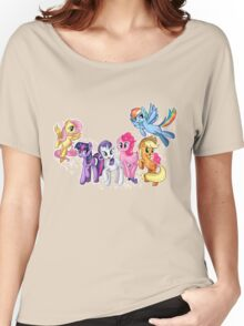 Mane Six Series ~ The Elements of Harmony Women's Relaxed Fit T-Shirt