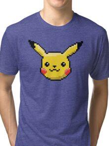 Pixel Pika Tri-blend T-Shirt