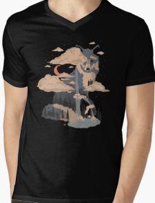 At the Foot of Fox Mountain... Mens V-Neck T-Shirt