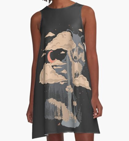 At the Foot of Fox Mountain... A-Line Dress
