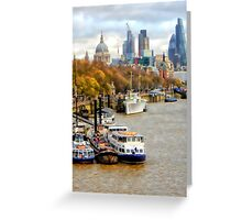 View to St Pauls Greeting Card