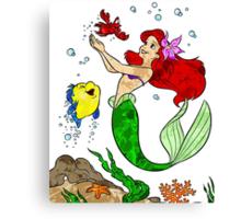 Ariel and Friends Canvas Print