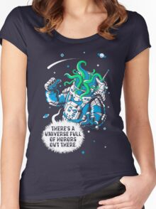 Cosmic Horror Women's Fitted Scoop T-Shirt