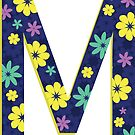 Flower Letter M by Winterrr