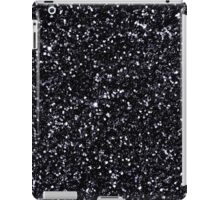 Black Glitter iPad Case/Skin