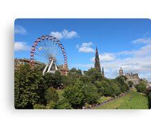 Edinburgh Festival Canvas Print