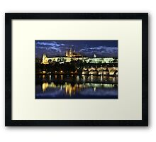 Prague Castle Framed Print
