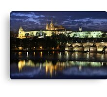 Prague Castle Canvas Print