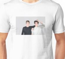 The Dolan Twins (grey) Unisex T-Shirt