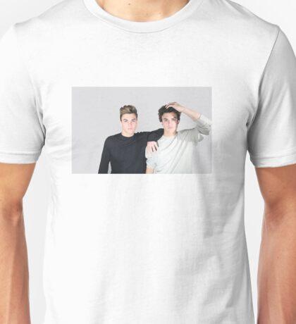 The Dolan Twins (grey) Unisex T-Shirt
