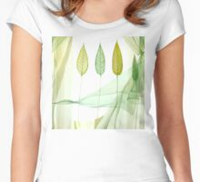 Looking through the window Women's Fitted Scoop T-Shirt