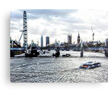 View to Westminster Metal Print