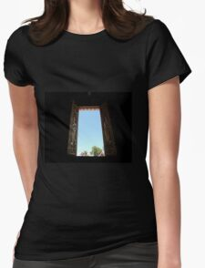 Crypt Window Womens Fitted T-Shirt