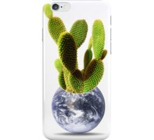 whole world is a cactus iPhone Case/Skin