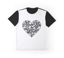 Geometric heart Graphic T-Shirt