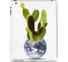 whole world is a cactus iPad Case/Skin