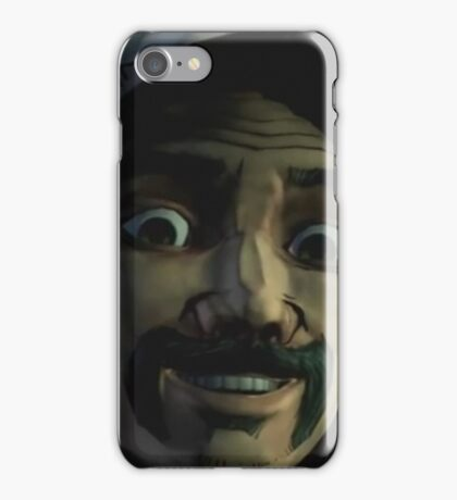 Clementine with Kenny Face (Season 2) iPhone Case/Skin