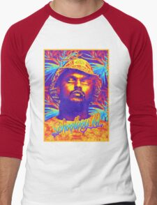 School Boy Q | 2016 | GROOVY ART  Men's Baseball ¾ T-Shirt