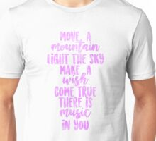"""There is Music in You"" - Cinderella Unisex T-Shirt"