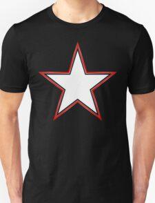Bordered Star Unisex T-Shirt