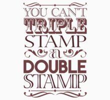 Triple Stamp Light Kids Tee