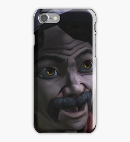 Clementine with Kenny Face (Season 1) iPhone Case/Skin