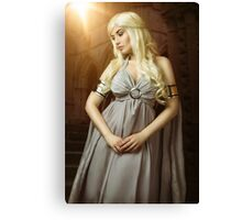 Queen of Dragons Canvas Print