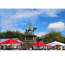 Edinburgh Book Festival Photographic Print