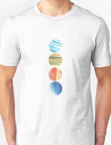 The Four Elements (Vertical) Unisex T-Shirt