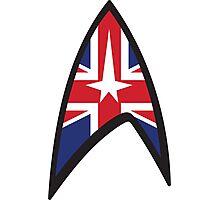 Star Trek Union Jack  Photographic Print