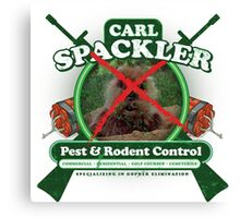 Spacklers Pest Control Canvas Print