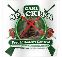 Spacklers Pest Control Poster
