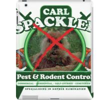 Spacklers Pest Control iPad Case/Skin