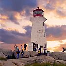 Peggy's Cove Lighthouse by Nancy Richard