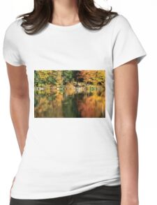 Wooden Dock Womens Fitted T-Shirt