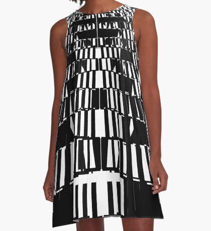 Distortion 4 A-Line Dress