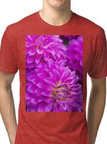 Dahlia Mauve Exception  Tri-blend T-Shirt