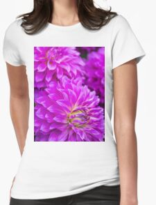 Dahlia Mauve Exception  Womens Fitted T-Shirt