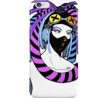 Cybergoth girl iPhone Case/Skin